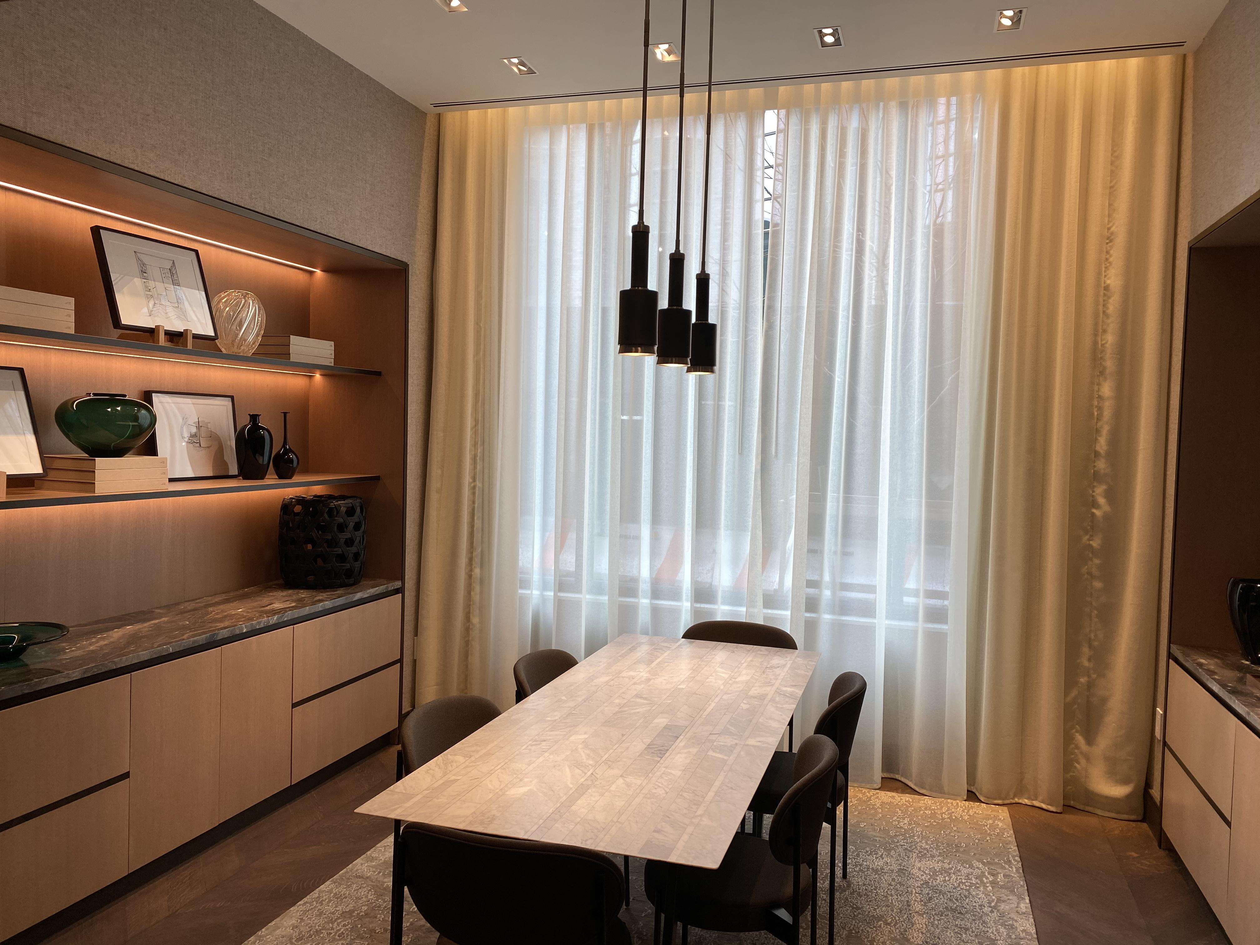 custom residential drapery