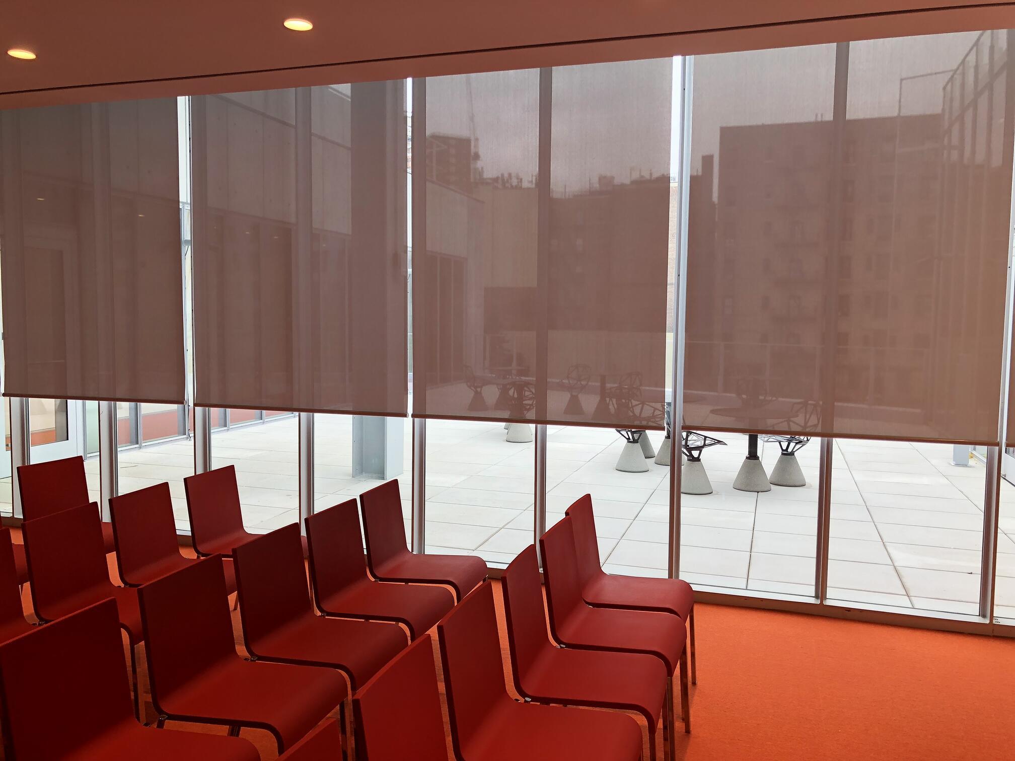 interior solar shades new york city