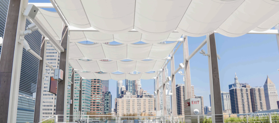 Wire Canopy Exterior Shade