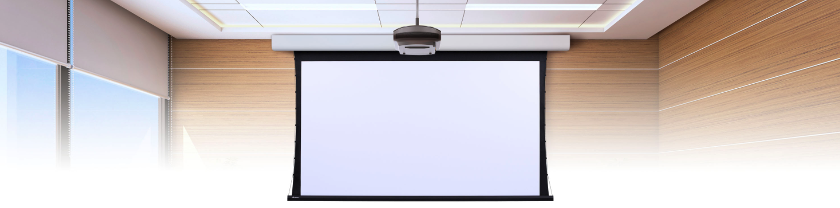 Smart Projection Screen Display