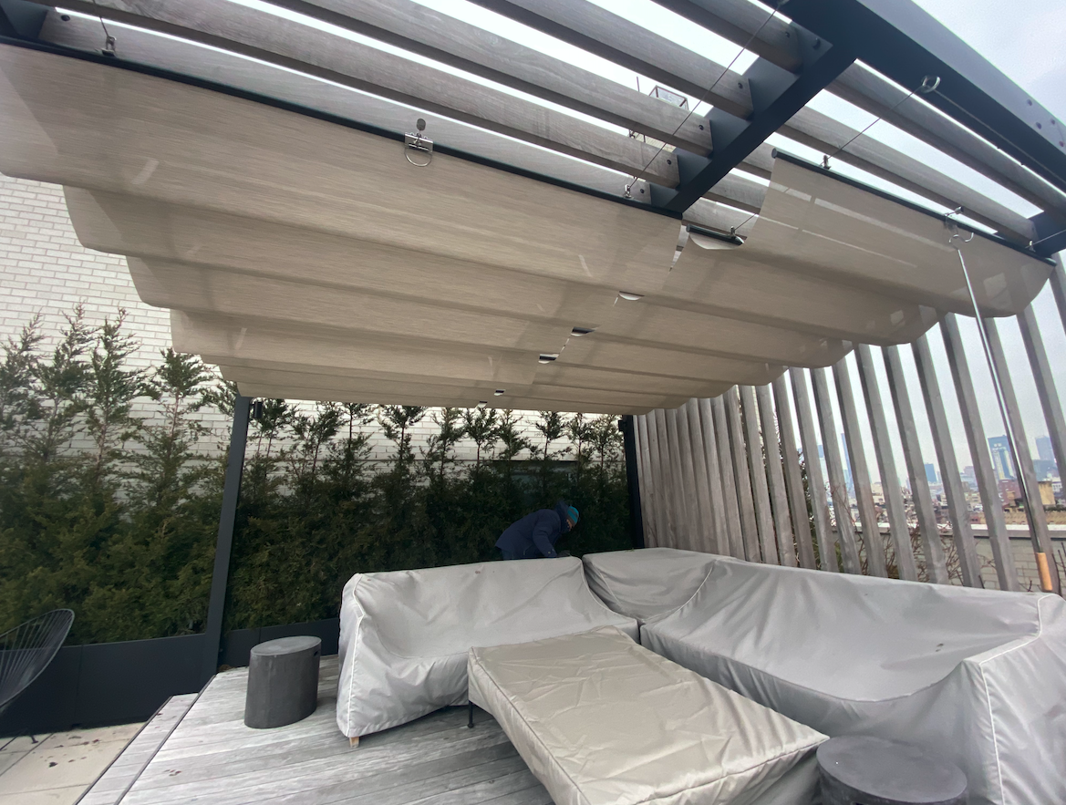 Exterior Wire Canopy System
